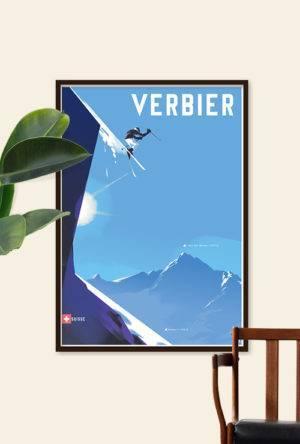 Verbier: Skiing