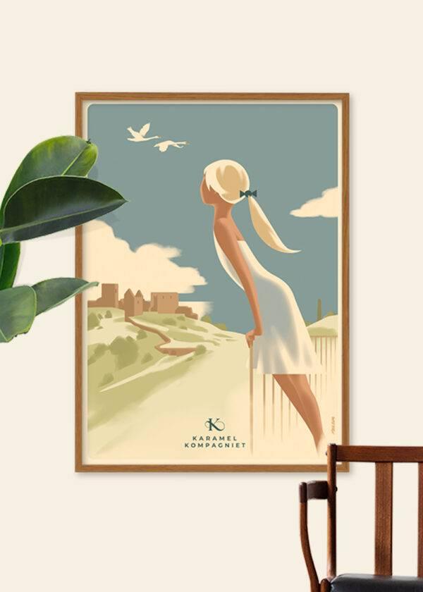 Hammershus Girl poster